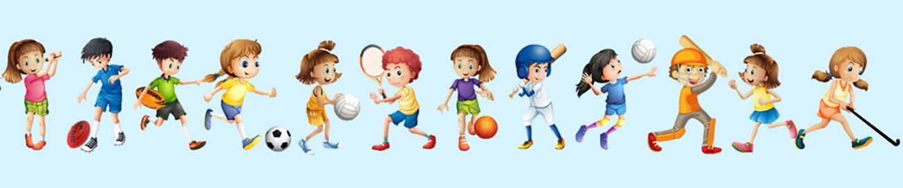 The 12 children sports we learn
